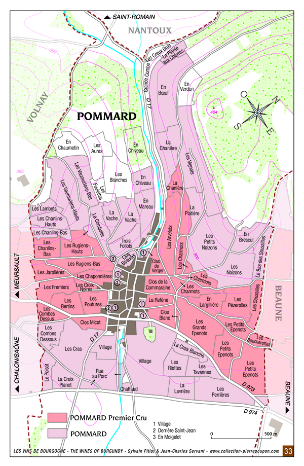 Pommard wines and Vineyards